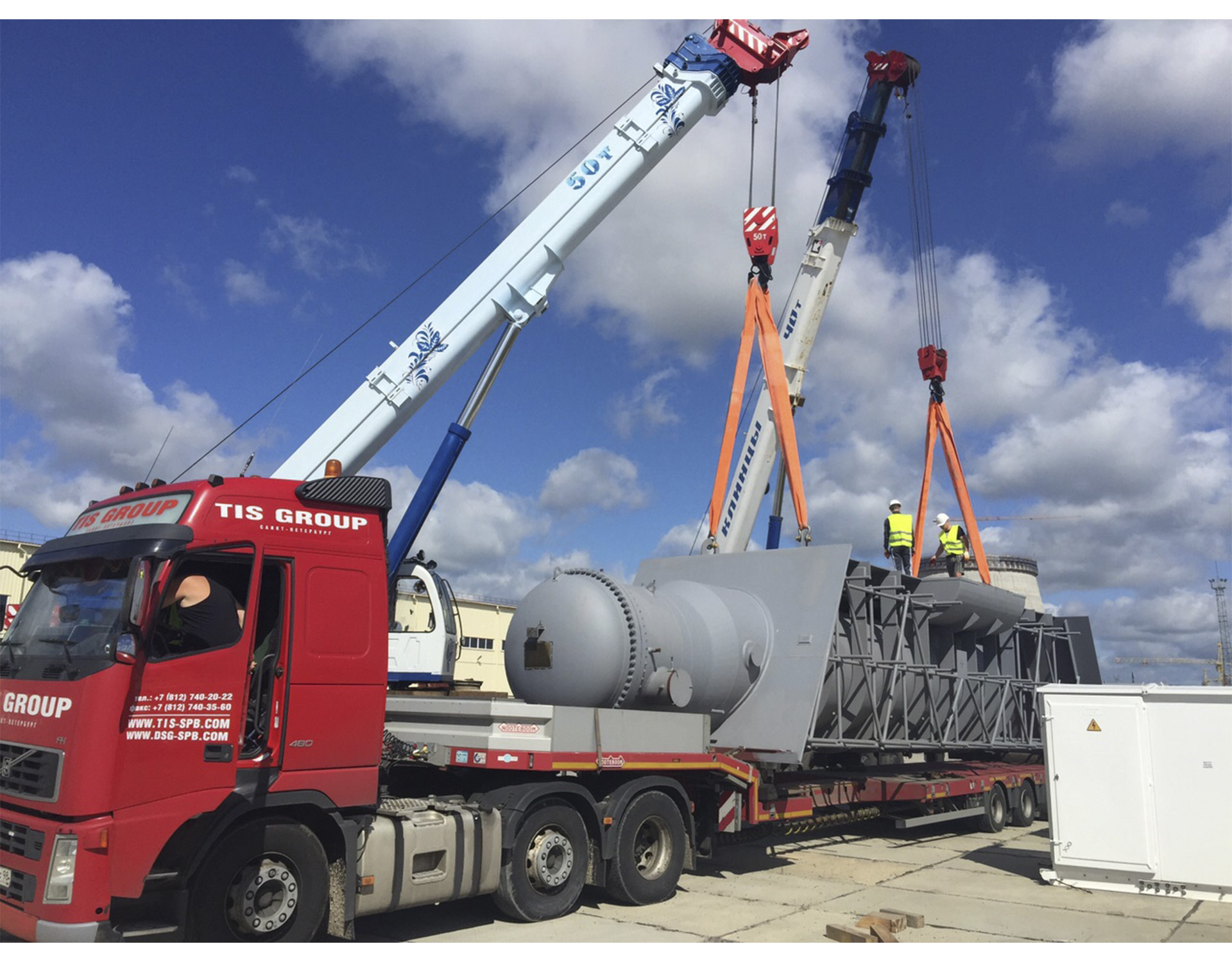 Delivery of power-generating equipment for Belarusian n.p.p. August of 2015