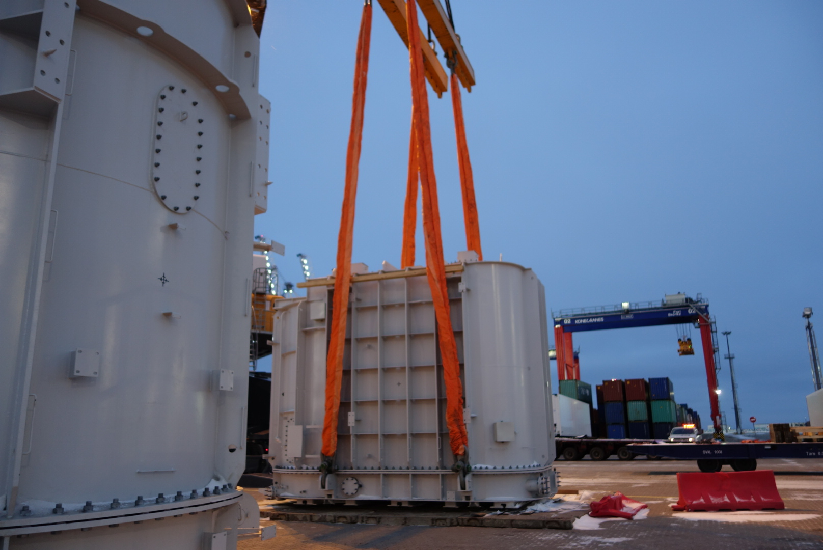 Transformer Delivery to Long Fu
